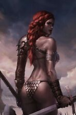 Red Sonja Birth Of She Devil #1 Jeehyung Lee Clean Virgin Variant Dynamite
