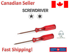 Best Red Screwdrivers Repairing and Maintenance Tool Set of 2 Fix For Macbook