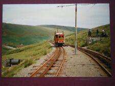 PHOTO  TRAM ON THE Snafell Mountain Railway Isle of Mann