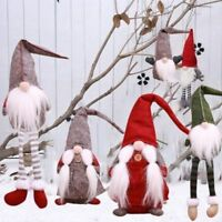 Cute Elf Santa Christmas Decoration Supplies New Year Dinner Party Decorations