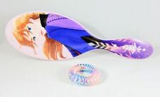 Disney Frozen II Anna Wet Brush Detangler with FREE Swirly-Do Hair Tie