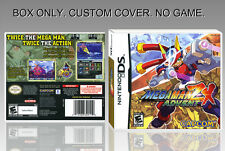 NINTENDO DS : MEGAMAN ZX ADVENT. ENGLISH. COVER CUSTOM + ORIGINAL BOX. (NO GAME)
