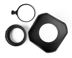 Linhof Universal Big (120x120mm) 60/70 Lens Hood w/ 51/60 Adapter, Filter Holder