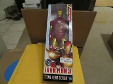 Marvel Iron Man 3 Classic Series Avengers Initiative Titan Heroes  Figure MIB