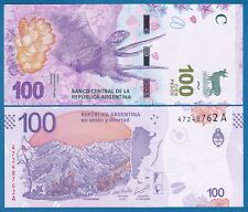 """Argentina 100 Pesos P New 2018 / 2019 UNC Suffix """"A"""" Low Shipping! Combine FREE!"""