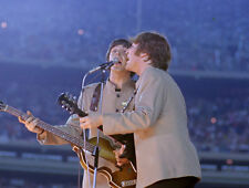 "The Beatles Paul McCartney John Lennon at Shea Stadium 14 x 11"" Photo Print"