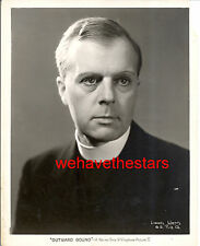 Vintage Lyonel Watts CHARACTER ACTOR '30 OUTWARD BOUND Publicity Portrait