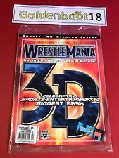 WWF WWE wrestling Magazine Combat 3D avec Lunettes Inclus
