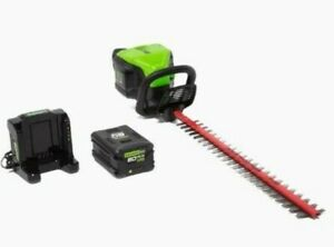 GreenWorks Electric Hedge Trimmer Dual Cordless Home 60-volt Max 24-in  Home