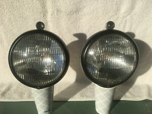 VINTAGE ARROW 775 HEADLIGHTS SCTA HOT RAT ROD