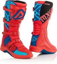 Acerbis Boots X-Team Motocross Enduro Boots Blue Red 43