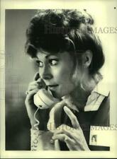 """1984 Press Photo Actress Kate Jackson in """"Scarecrow and Mrs. King"""" on CBS-TV"""