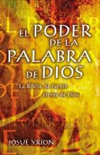 El Poder De La Palabra De  Pb  (UK IMPORT)  BOOK NEW