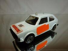 NOREV VW VOLKSWAGE GOLF I - RIJKSPOLITIE POLICE - WHITE 1:43 - GOOD CONDITION