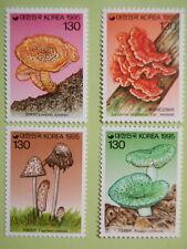 korea 1995 Mushroom Series 3rd Issue Set/4 Fungi MNH Sc#1803-6