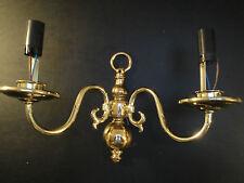 """Applique métal doré """"Bougeoirs"""" électrique"""