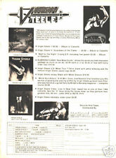 Virgin Steele Photo Ad metal 80's David Defeis