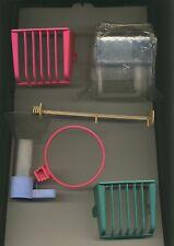 Lot  accessoires pour cage oiseaux - mangeoir abreuvoir perchoir