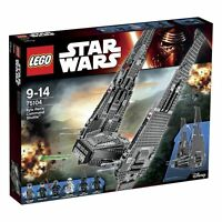 LEGO STAR WARS 9-14 ANNI KYLO REN COMMAND SHUTTLE ART 75104