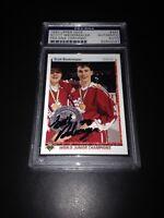 Scott Niedermayer Signed 1990-91 Upper Deck Rookie Card PSA Slabbed #83840097