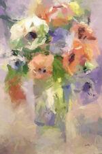 Tableau Bouquet impressionniste