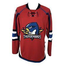 SPRINGFIELD THUNDERBIRDS CCM JERSEY Men's Medium Red Hockey Sweater AHL Panthers