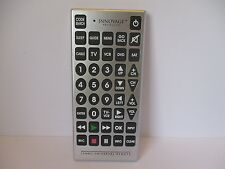 Innovage Products JUMBO Universal Remote Control GIANT Buttons 8 Devices