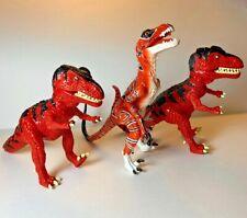 Set Of 3 ATARI PRIMAL RAGE Dinosaurs Figures 1990s Playmates