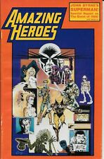 Comics -- Amazing Heroes #82 -- Nov 1985