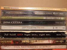 CD Lot of 8 Pop ROCK CD's PAul McCartney PETER CETERA Van Halen PAUL WESTERBERG
