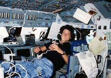 Space Shuttle Challenger Sally Ride PHOTO First Woman Astronaut Space, Youngest!