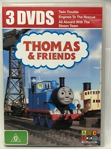 Thomas & Friends - 3 DVD Collection - The Movie - AusPost with Tracking