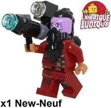 Lego - Figurine Minifig Super Heroes Taserface + gun arme SH382 76079 NEUF