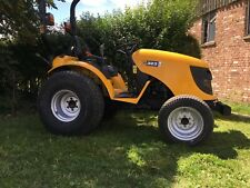 More details for jcb 323 hst compact mini garden tractor, 4wd with turf tyres