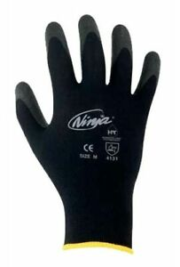 Ninja Gloves Palm Coated Work Gloves Pack of 10 Pairs