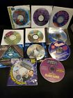 Computer Games - Lot Of 11, Vintage - Titles In Description, Most New