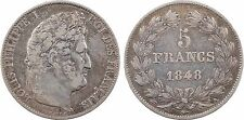 Louis Philippe Ier, 5 francs 1848 Paris - 45