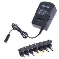 AC DC Universal Adapter Converter 3 4.5 6 7.5 9 12V EU Power Charger 3A 30W