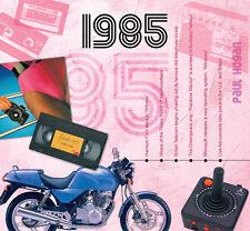 32nd Birthday Gifts - 1985 Classic Years Pop CD Greetings Card - CD Card Company