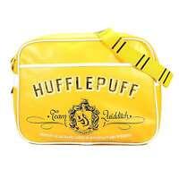 OFFICIAL HARRY POTTER HUFFLEPUFF CREST SHOULDER MESSENGER SPORT SCHOOL BAG BNWT