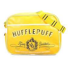 Official Harry Potter Hufflepuff Crest Shoulder Messenger Sport School Bag