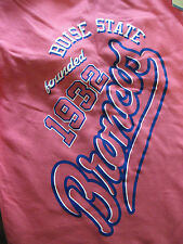 NWT MV Sport Women Med Vega Sweatpants Boise State Broncos Logo