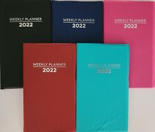 2022 Weekly Pocket Appointment Planner Calendar Day Timer 38x65 Select Color