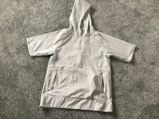 Ladies Running Jacket By Addidas SizeS In Grey.