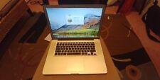 "Apple MacBook Pro A1286 15.4"" Laptop (June, 2012) - i7 12gb ram 256 ssd"