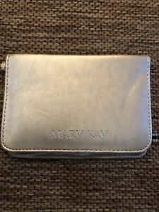 Mary Kay Compact Gold Wallet with Mirror New