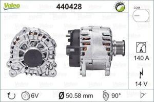 VALEO Lichtmaschine Generator LiMa ohne Pfand VALEO RE-GEN REMANUFACTURED 440428