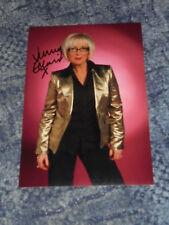 JENNY ECLAIR - GRUMPY OLD WOMEN   -12x8  PHOTO SIGNED (101)