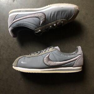 Men's Nike X NikeLab Classic Cortez SX Canyon Gray White Low Sz 12 (789594-001)