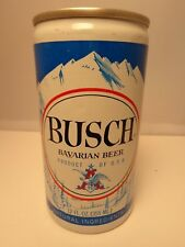 BUSCH BAVARIAN ALUMINUM PULL TAB BEER CAN #52-36   TAMPA, FL.  2 CITY